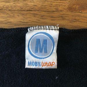 Moby wrap in black